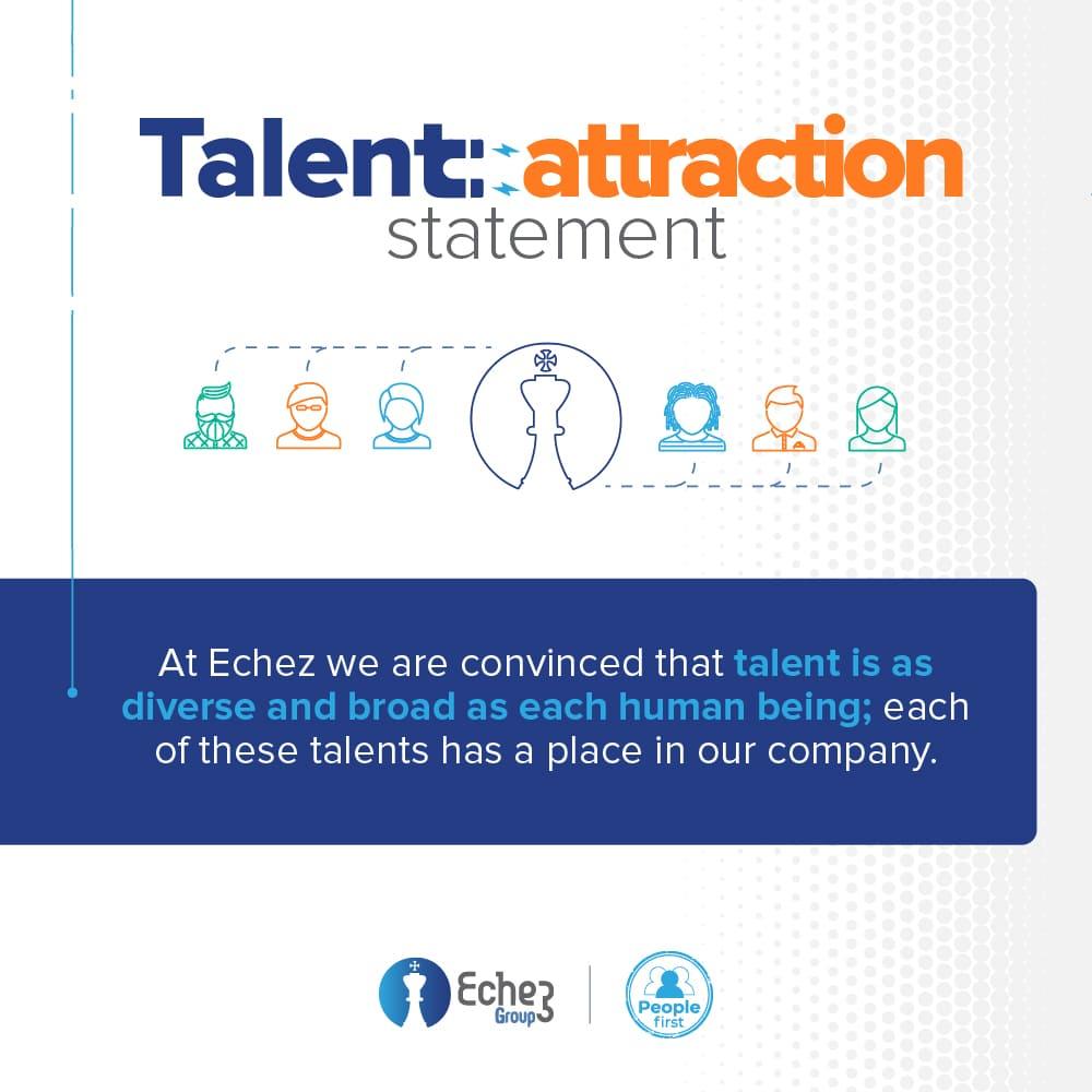 Talent attraction statement